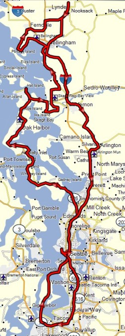 Leap Day Ride Route - Narrow